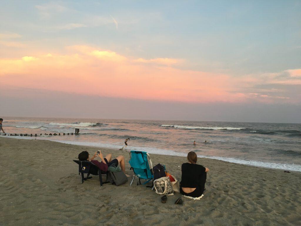 pláž Far Rockaway