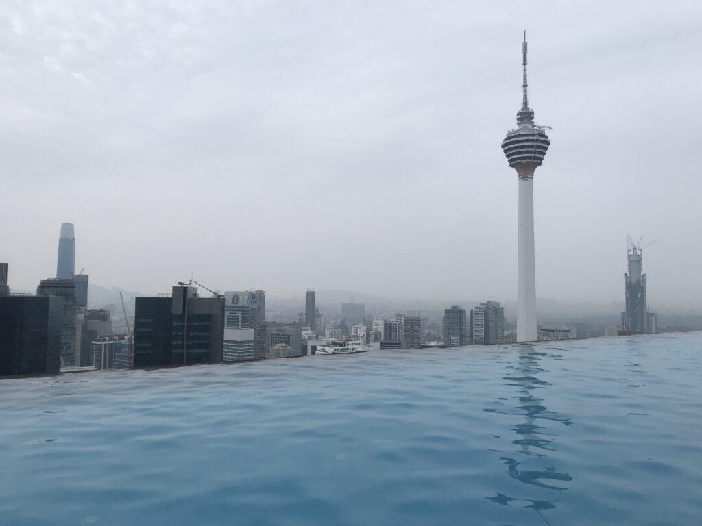 Menara Tower v malajské metropoli Kuala Lumpur