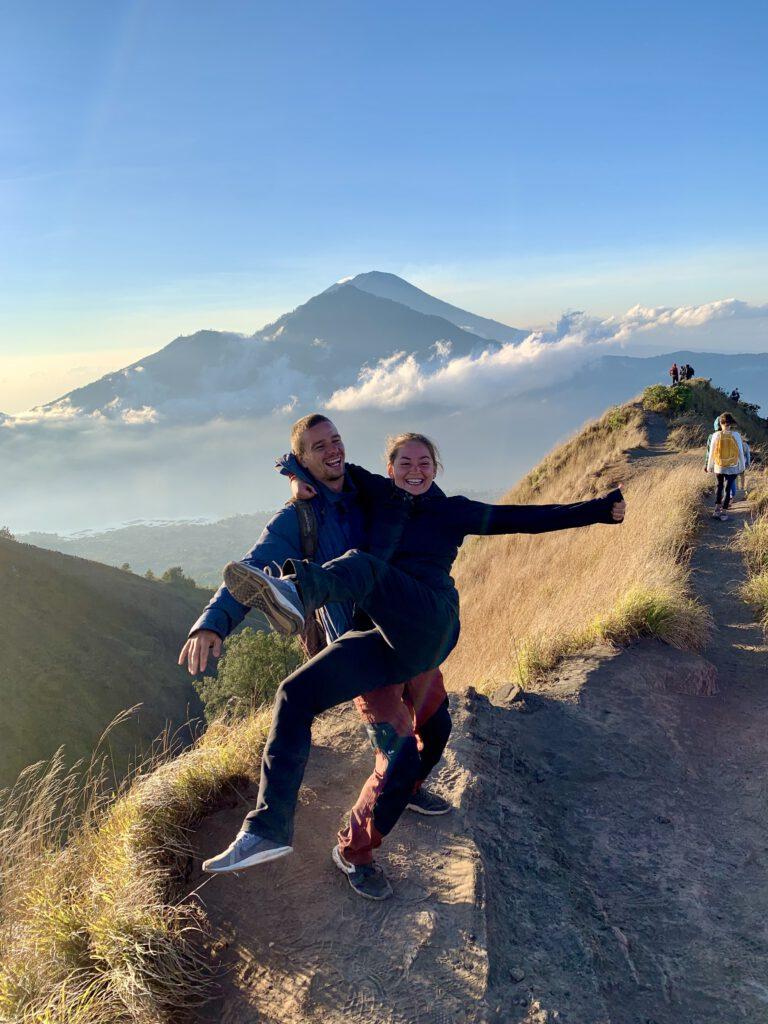 Mount Batur východ slunce Bali