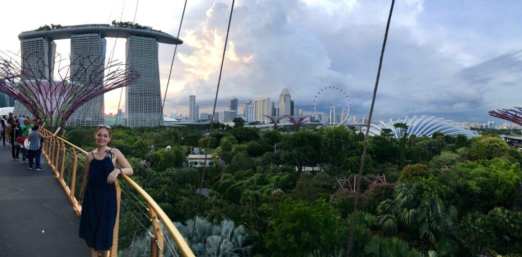 Gigantické super stromy v Singapuru