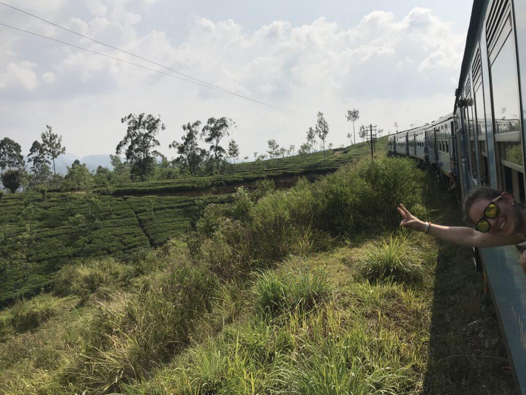 Ella vlak Srí Lanka