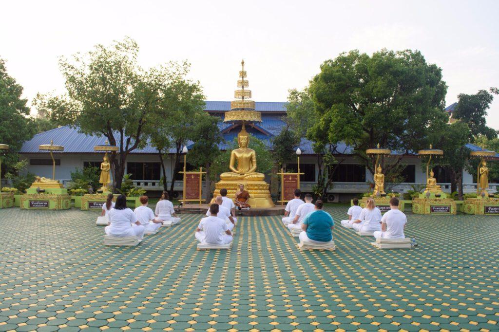vipassana meditace thajsko